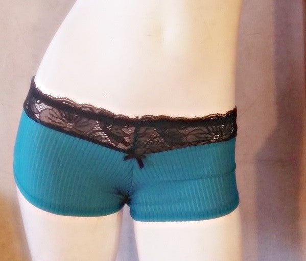 Emerald Green Slinky Boyshorts