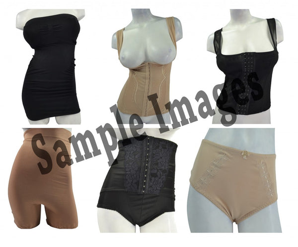 Women's Sexy Assorted Shapewear - Mixed