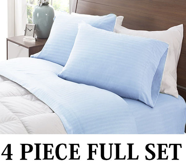 6 Sets of Full Size 4Piece Bedsheet Set