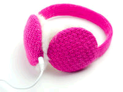Chatties Wired Cozy Fashion Earmuffs with Built-in Speakers - 12 units