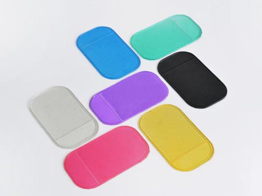5pack Reusable Adhesive Mat for Home, Car, or Office