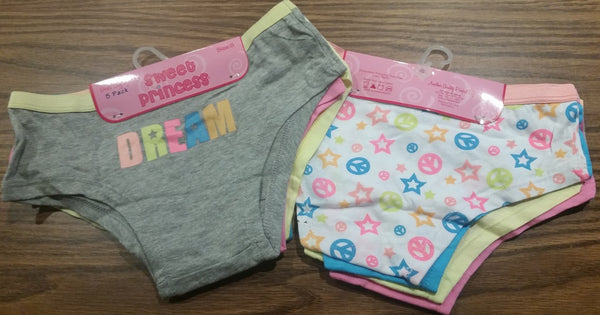 Kids' 5Pack Underwear for Girls DREAM
