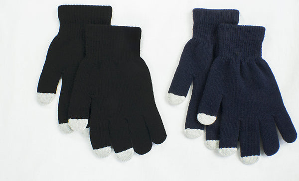 2 Pairs of Touchscreen Gloves Unisex