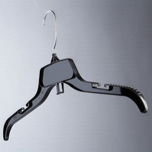 "17"" Swivel-Hook Shirt Hangers - Black"