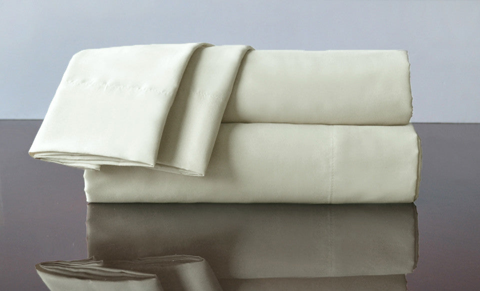 6 Sets of Full Size 4Piece Bedsheet Set  - IVORY