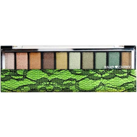 Hard Candy Eye Shadow Pallette - Green with Envy