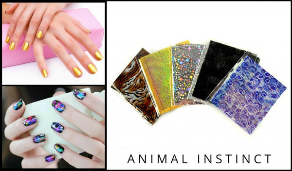 NailFash Themed Nail-Foil Nail Art - 36 packets