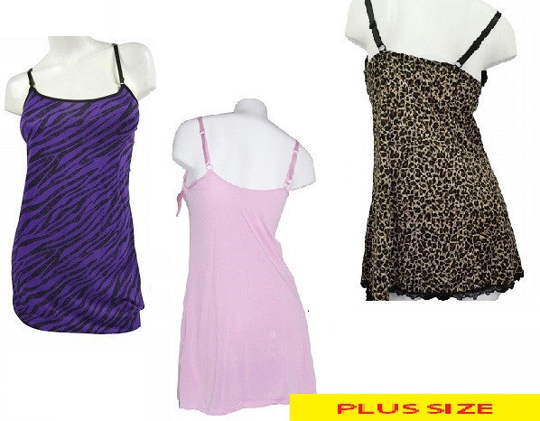 Beautiful Plus-Size Assortment of Nighties and Gowns