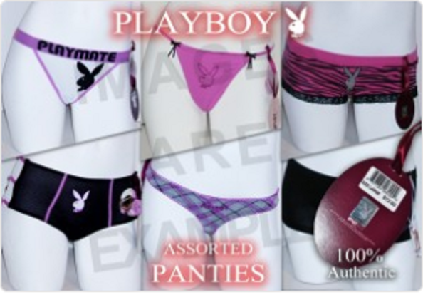 Sexy ***Playboy Brand***  Assorted Panties