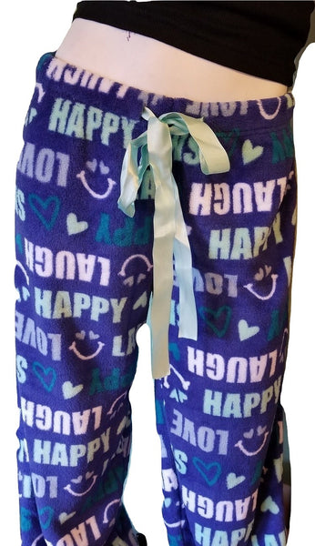 Blue Fleece PJ Pants