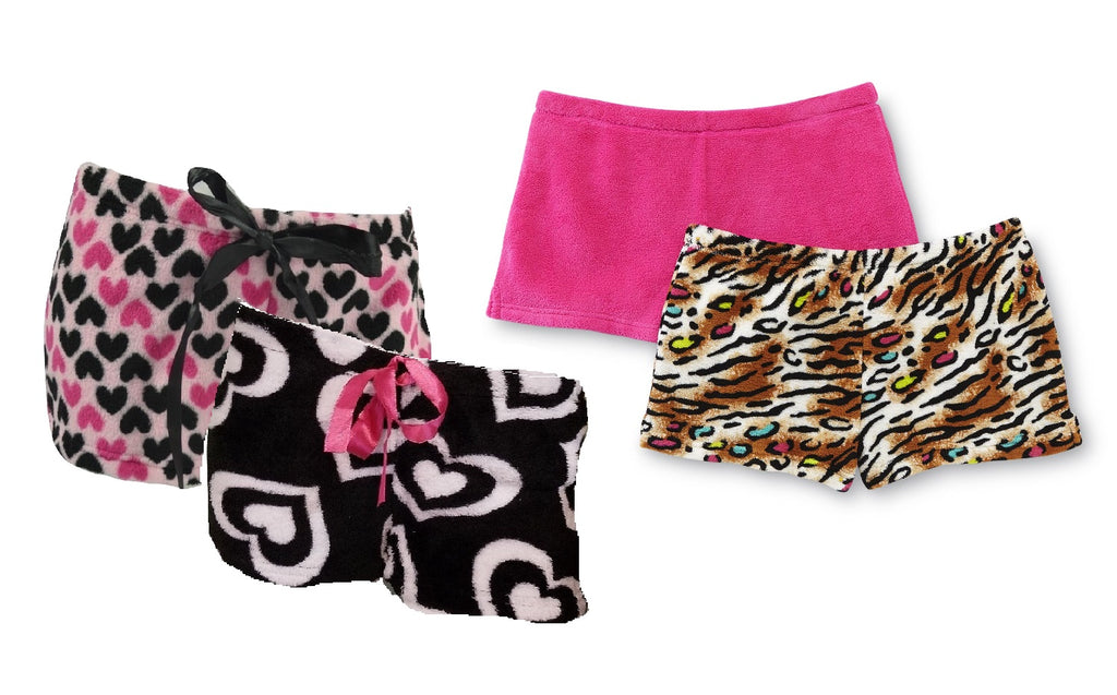 Wholesale FLEECE Pajama Short Bottoms - 12