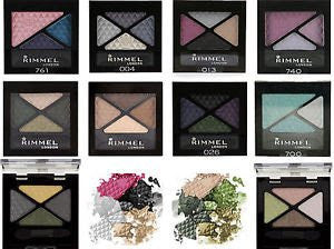 RIMMEL GLAM EYES EYE SHADOW QUAD ASSORTED