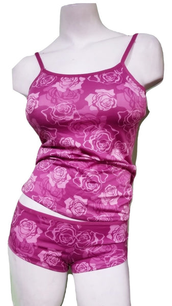 Cranberry Rose 2 Piece Cami Set