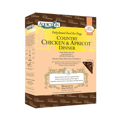 ADDICTION Country Chicken & Apricot Dinner for Dogs