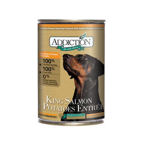 ADDICTION King Salmon & Potatoes Entree for Dogs