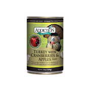 ADDICTION Turkey with Cranberries & Apples Entree for Dogs
