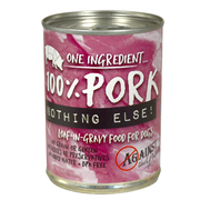 AGAINST THE GRAIN™ Nothing Else! 100% Pork Loaf in Gravy for Dogs