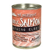 AGAINST THE GRAIN™ Nothing Else! 100% Salmon Loaf in Gravy for Dogs