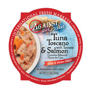 AGAINST THE GRAIN™ Tuna Toscano with Tomato & Salmon