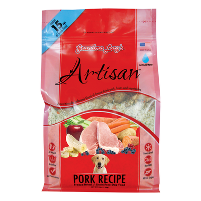 GRANDMA LUCY'S® Artisan™ Pork Recipe for Dogs