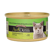 AVODERM Natural® Grain-Free Tuna & Chicken Entree with Vegetables for Cats