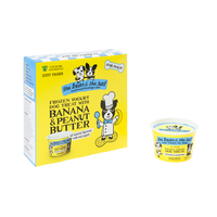THE BEAR & THE RAT Banana & Peanut Butter Frozen Yogurt Dog Treats