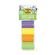 BAGS ON BOARD® Waste Pick Up Refill Bags - Rainbow