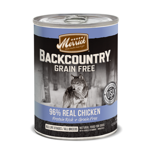 MERRICK® Backcountry™ 96% Real Chicken for Dogs