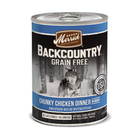 MERRICK® Backcountry™ Chunky Chicken Dinner in Gravy for Dogs