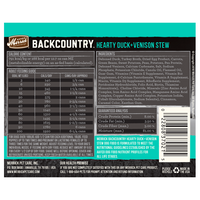 MERRICK® Backcountry™ Hearty Duck + Venison Stew for Dogs