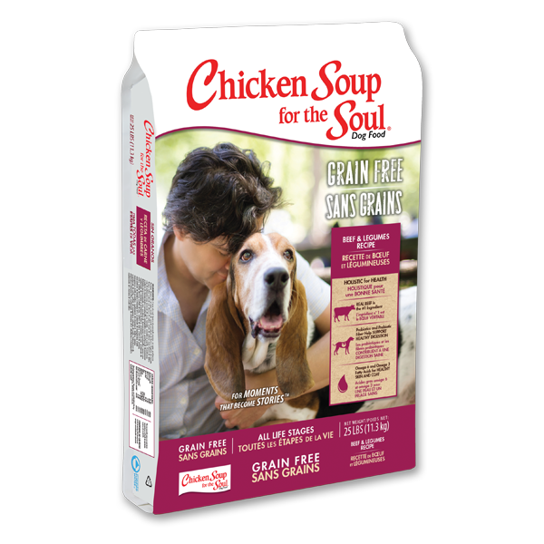 CHICKEN SOUP FOR THE SOUL® Grain Free Beef & Legumes Recipe for Dogs