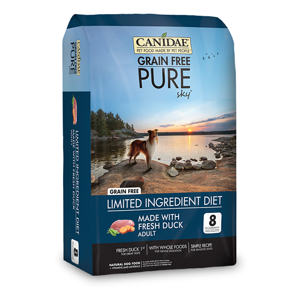 CANIDAE® Grain Free PURE Sky® Formula with Fresh Duck for Dogs
