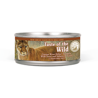 TASTE OF THE WILD® Canyon River Feline® Formula with Trout & Salmon in Gravy