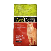 AVODERM Natural® Chicken & Herring Meal Formula for Cats