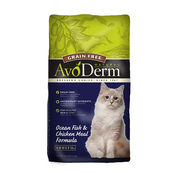 AVODERM Natural® Grain-Free Ocean Fish & Chicken Meal Formula for Cats
