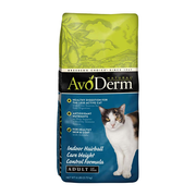 AVODERM Natural® Indoor Weight Control Formula with Hairball Relief for Cats
