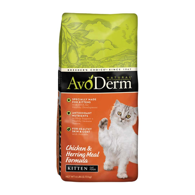 AVODERM Natural® Chicken & Herring Meal Formula Kitten