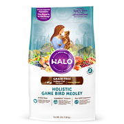 HALO® Grain Free Holistic Game Bird Medley Healthy Weight Indoor Recipe for Cats