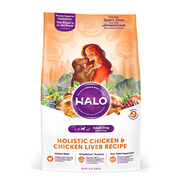 HALO® Holistic Chicken & Chicken Liver Recipe for Dogs