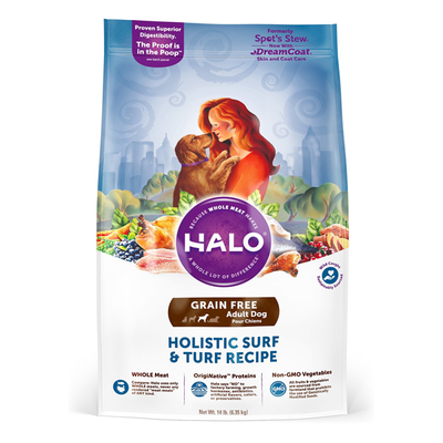 HALO® Grain Free Holistic Surf & Turf Recipe for Dogs
