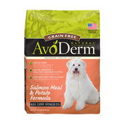 AVODERM Natural® Grain-Free Salmon Meal & Potato Formula for Dogs