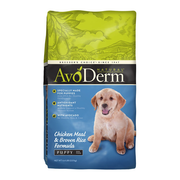 AVODERM Natural® Chicken Meal & Brown Rice Formula Puppy
