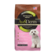 AVODERM Natural® Revolving Menu® Turkey Recipe – Small Breed Dogs