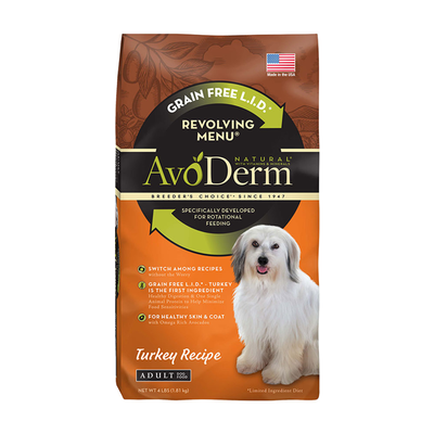 AVODERM Natural® Revolving Menu® Turkey Recipe for Dogs