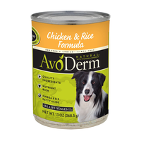 AVODERM Natural® Chicken & Rice Formula for Dogs