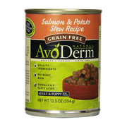 AVODERM Natural® Grain-Free Salmon & Potato Stew Recipe for Dogs