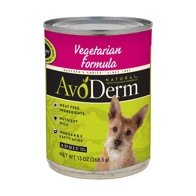 AVODERM Natural® Vegetarian Formula for Dogs