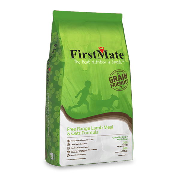 FIRSTMATE Free Range Lamb Meal & Oats Formula for Dogs