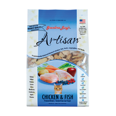 GRANDMA LUCY'S® Artisan™ Chicken & Fish Recipe for Cats