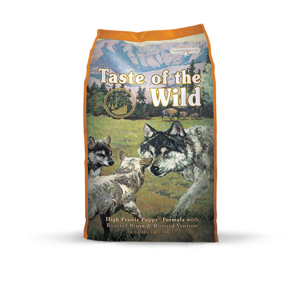 TASTE OF THE WILD® High Prairie Puppy® Formula with Roasted Bison & Roasted Venison